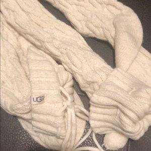 UGG Shoes - UGG over the knee socks